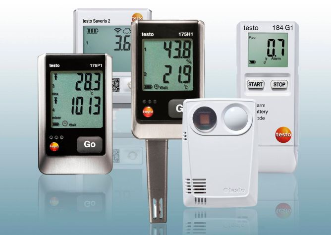 Data loggers and monitoring - Testo
