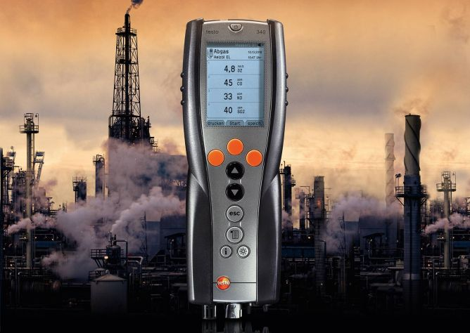 Flue gas analyzers for industry and power generation