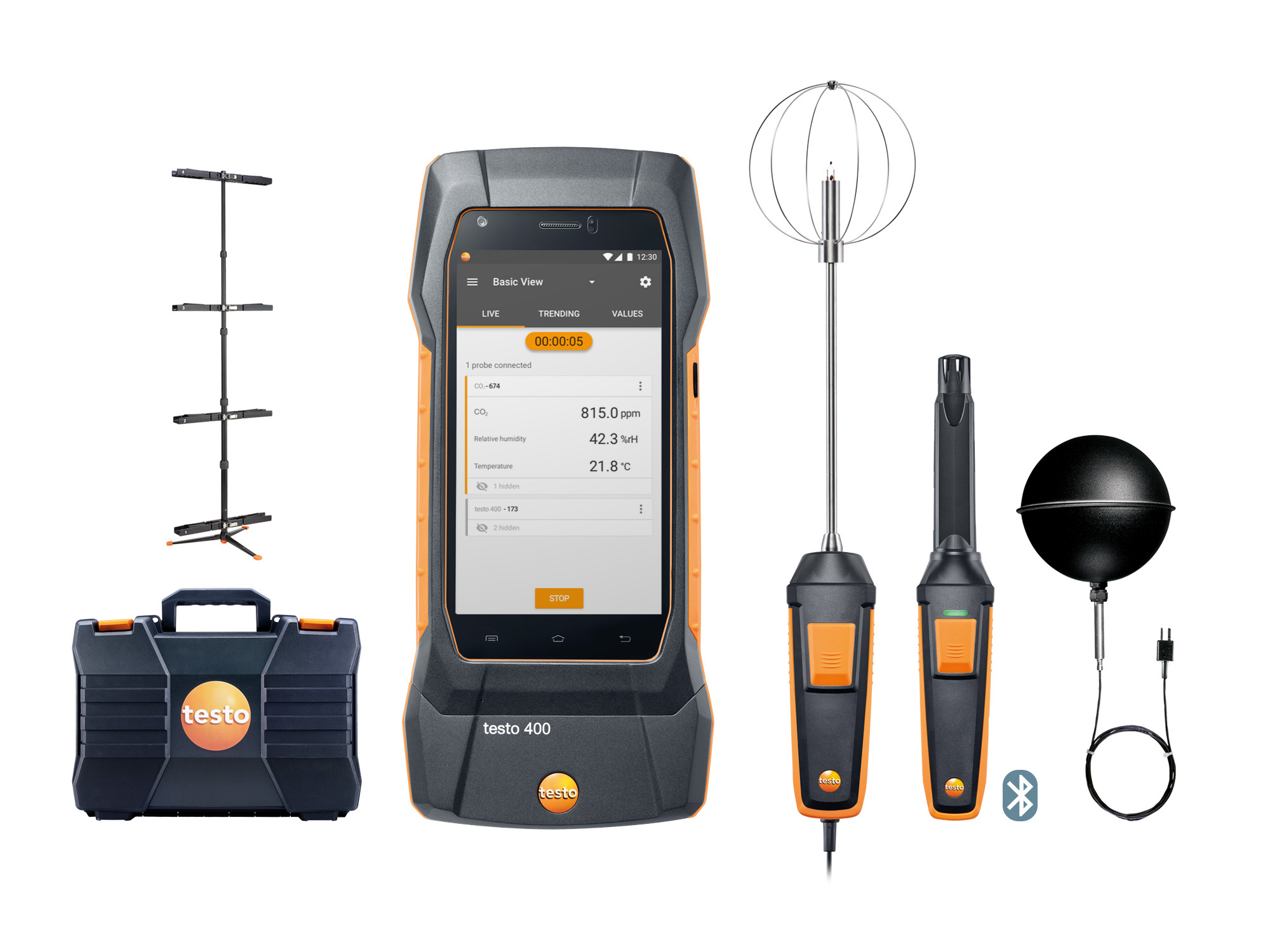 Testo 400 - the new universal IAQ instrument