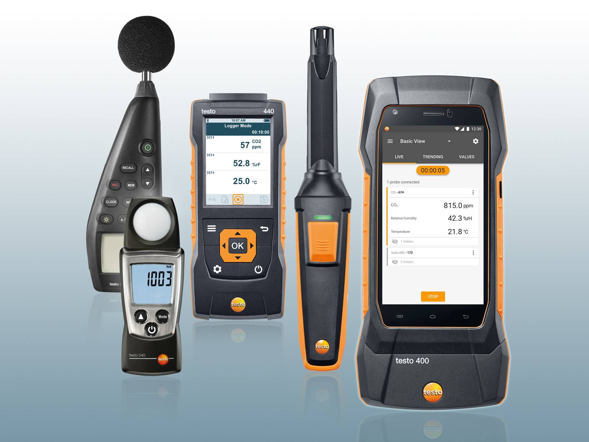 Multifunctional instruments - TESTO