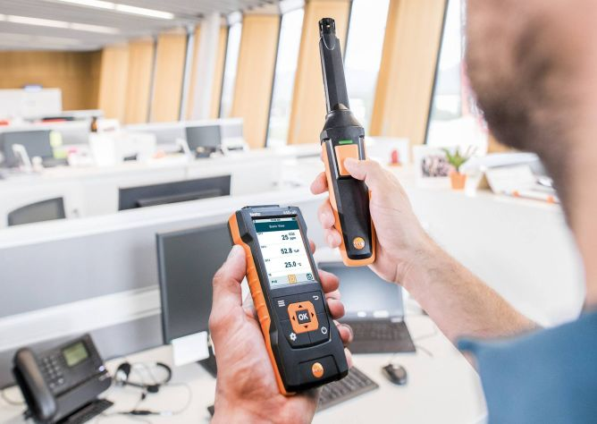 CO, CO2 and gas leak detection - TESTO