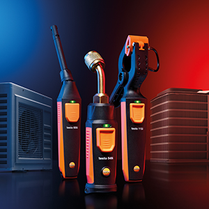 The new Testo Smart Probes - with greater range and more flexibility